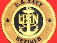 We have military plaques that can be customized for any