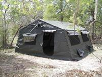 New Modual Tents 16 by 16 military tent Frame is abuilt
