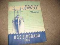 This is yearbook that was issued on the USS Eldorado in