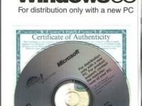 Listed is a windows '95 CD with USB support and Key