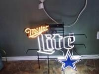 Selling my miller lite neon sign. It would make a great