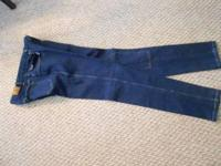 Miller's Riding Jeans with padded knees and tapered to