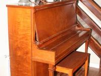 Milton upright piano, circa 1920. Do not know the