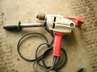 For sale is a Milwaukee 1/2 Heavy Duty Drill Motor. It