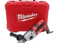 The Milwaukee 1/2 in. Heavy-Duty Hammer Drill is built