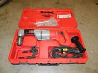 No longer need this right angle drill. Used about a