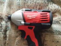 like new Milwaukee m18 hex bare tool only no batteries
