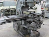 buyer pays shipping Milwaukee Vertical Mill Model KM,