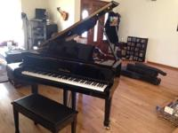 I'm selling my mini baby grand piano. Barely used.
