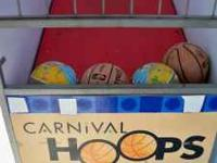 mini basket ball game great for birthday parties,church