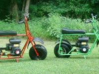 Two Old School Mini Bikes3 HorsepowerBoth runs