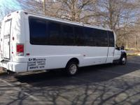 2008 Ford F 550 Krystal Shuttle Bus...new 6.4L Power