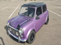Super fun Mini to drive. A true right hand drive Mini
