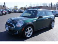 This MINI COOPER CLUBMAN is ready to roll today and is