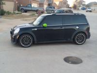 I have this great mini cooper R55 clubman which is a S