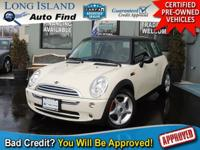 TAKE A LOOK AT THIS PEPPER WHITE 2006 MINI COOPER WITH