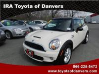 This MINI COOPER HARDTOP is ready to roll today and is
