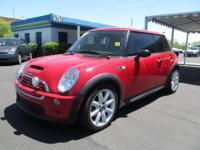 For sale is a beautiful 2002 Mini Cooper S. This car is