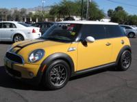 For sale is a beautiful 2009 Mini Cooper S. This car is