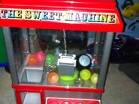 I love crane machines!! lol works fine but the battery