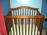 Hardly used mini crib for sale. Has all its parts.