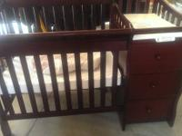 Preowned Sorelle Newport porta baby crib and even more