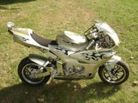 I have a mini crotch rocket motorcycle for sale. It is