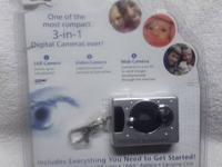 Never used or opened, 3 in 1 camera complete.  $15