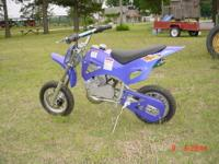 New Wildfire Mini Dirtbike suitable for age 5 to about
