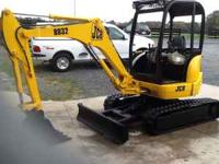 2005 JCB 8032....1635 HRS.....TRACKS 90%....24""