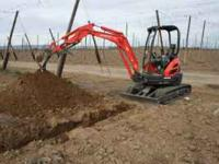Mini Excavator with Operator For Hire Including