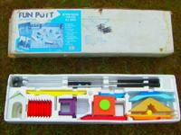 Fun Putt Mini Golf Set  New in Box $30.00 (1989 Price