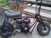i have a motor bike with a new 5.0 motor new tires the