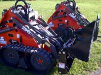 Mini Skid Steer - Thomas 25GT Compact Loader w /