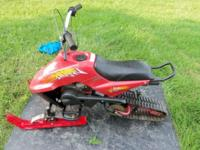 This listing is for a lightly used Super Snow Fox 80cc