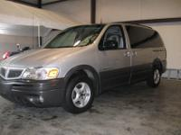 2002 Pontiac Montana- Leather, quad seating, rear Air