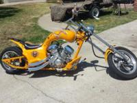 I have a clean RED AND YELLOW mini chopper up for