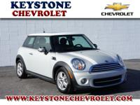 This is a great 2012 Cooper hatchback Base. The vehicle
