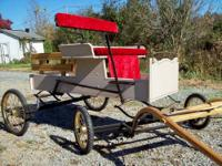 Brand new mini size runabout with Brakes, Brass