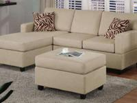 Poundex #F7664 Mini Sectional $569.99 Includes