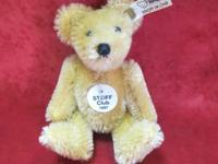 Darling Miniature Steiff Mohair Bear Excellent