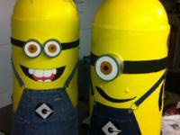 2 Minion Costumes detailed, fun, and handmade by me