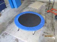 Miniture trampoline; seldom used. Great condition. If