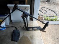 MINN KOTA ALL TERRAIN 40 TROLLING MOTOR USED RUNS $190