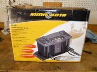 Minn Kota MK 460 battery charger new still in box.