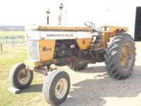 Clean Minneapolis Moline M670 Super, diesel. In good