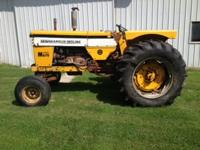 Minneapolis Moline M670 - 5000hrs - Gas  - 70hp - 2 hyd
