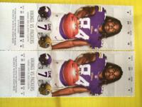 I am a Minnesota Vikings season ticket holder and i am