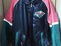 Official G-III Sports by Carl Banks Minnesota Wild Faux