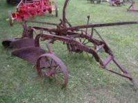 Minnieapolis Moline 2 bottom trailing plow Please call